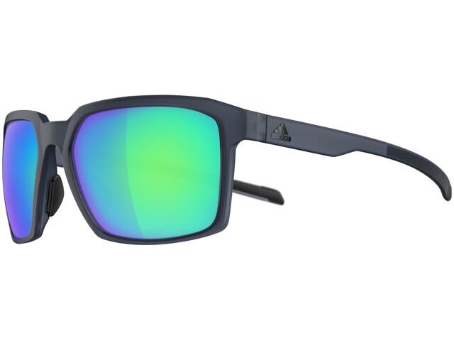 adidas Evolver Glasses raw steel matt/blue